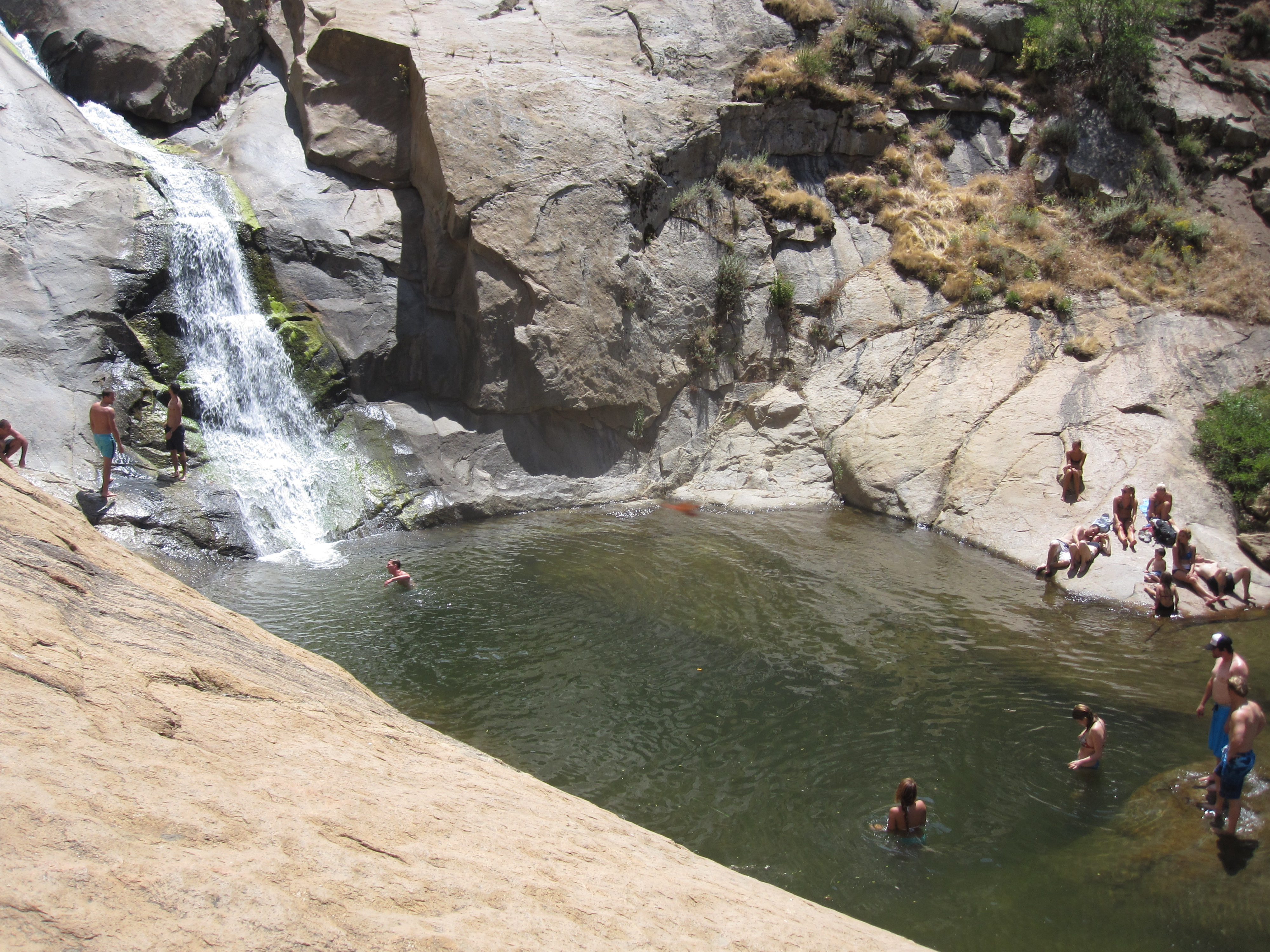 hike san diego: three sisters falls | couple of travels