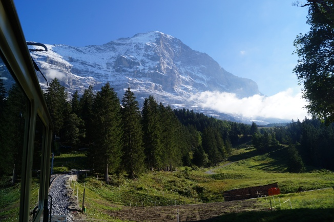 Jungfraujoch Swiss Alps